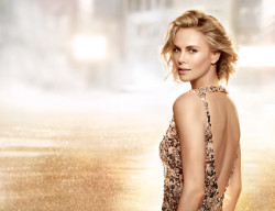 Charlize Theron reveals herself to Peter Lindbergh for Christian Dior Parfums
