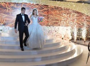 The Royal marriage of Nura Harati and Giuliano Chaddoud