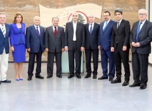 Members of the Press Order visiting Dr. Samir Geagea
