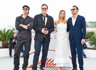 Leonardo DiCaprio stars in Once upon a time in Hollywood