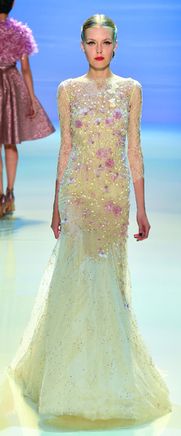 GEORGES HOBEIKA Couture FW 14-15 look#13