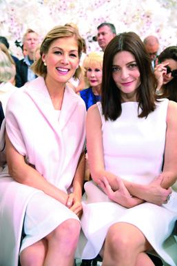 Rosamund Pike & Chiara Mastroianni
