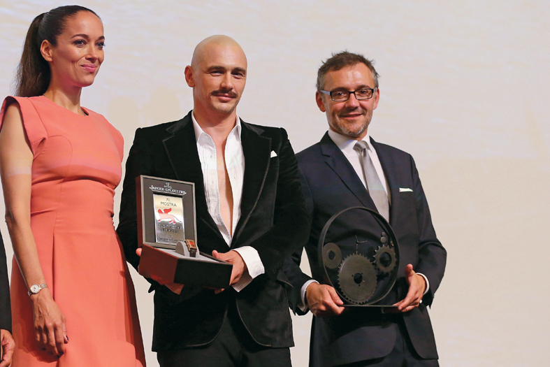 """Jaeger-LeCoultre Glory To The Filmmaker 2014 Award"" Honors James Franco - Jaeger-LeCoultre Collection"