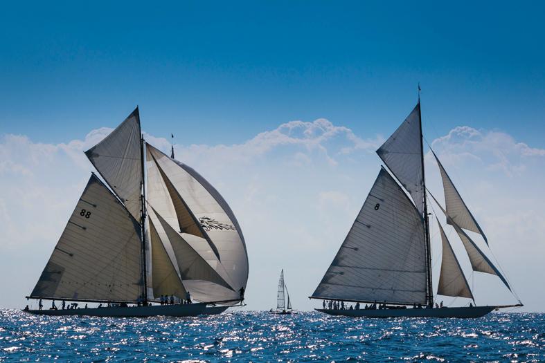 Panerai Classic Yacht Challenge 2014 Regates Royales 2014 Ph: Guido Cantini/Panerai/Sea&See.com