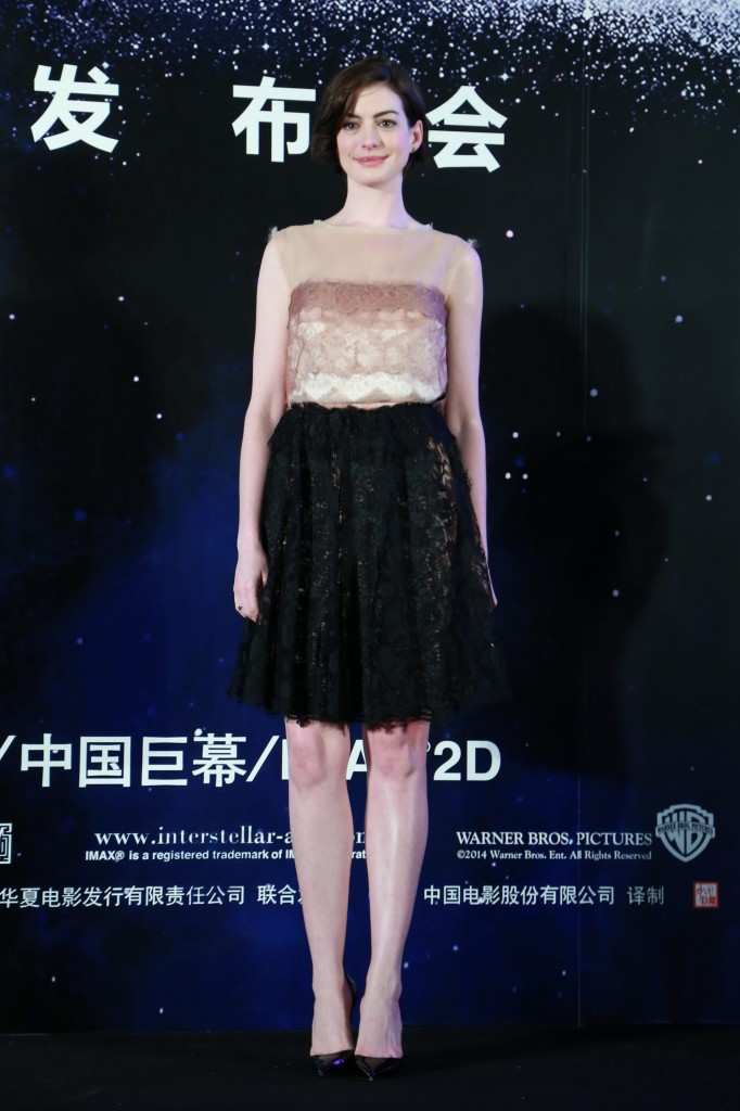 Film Interstellar Shanghai Press Conference