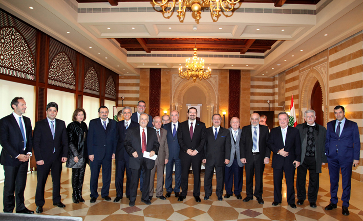 Former-Pr-Minister-Saad-Hariri-meets-a-Delegation-of-Lebanese-Press-Order (1)