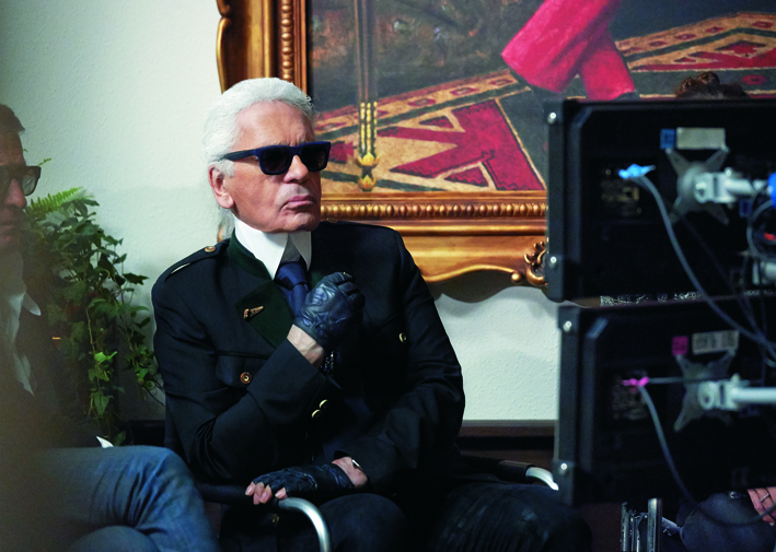 Reincarnation by Karl Lagerfeld - making of pictures by Olivier Saillant - 018