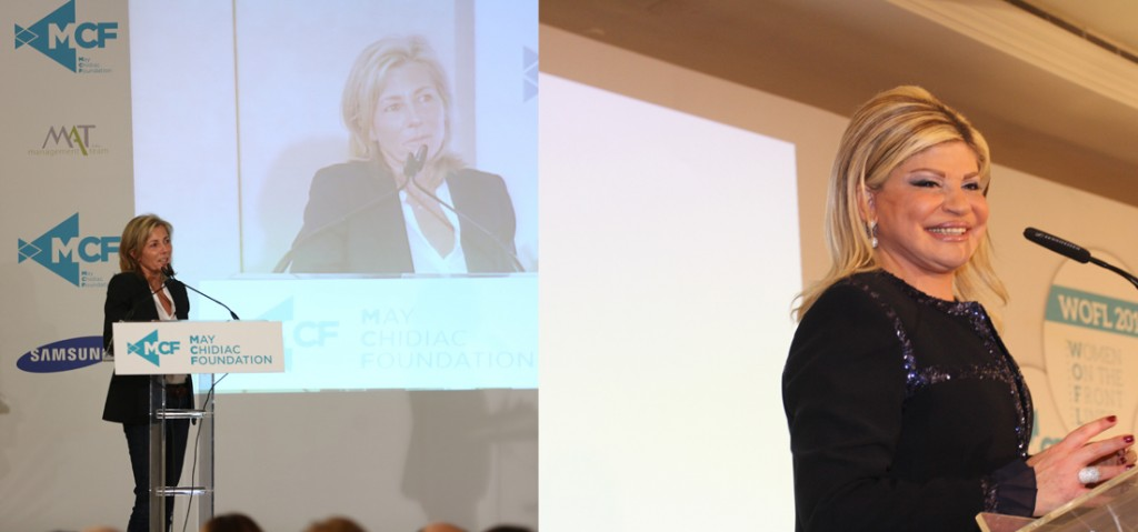 Claire Chazal et May Chidiac
