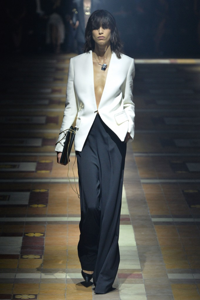 LANVIN ready to wear spring summer 2015 Paris  september 2014