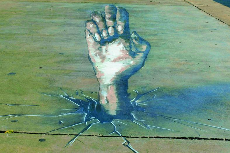 7UP Graffiti 3D Hand - Yazan Halwani