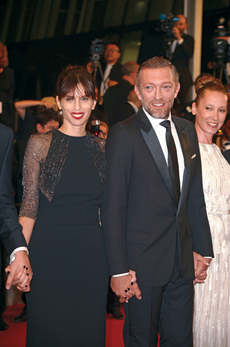 "CANNES, FRANCE - MAY 17:  (L-R) Director Maiwenn, actor Vincent Cassel and actress Emmanuelle Bercot attend the Premiere of ""Mon Roi"" during the 68th annual Cannes Film Festival on May 17, 2015 in Cannes, France.  (Photo by Pascal Le Segretain/Getty Images)"