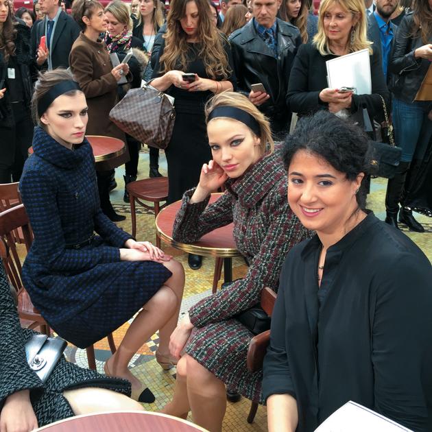 Maria at Chanel