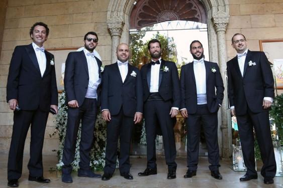 Bahaa Arbid Bassam Nakfour Youssef Haddad Ziad Chaccour Tarek Waked & Christophe Nammour