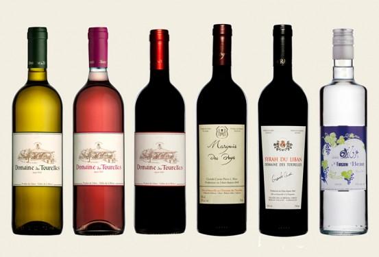 domaine des tourelles wine bottles