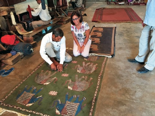 Carpet making