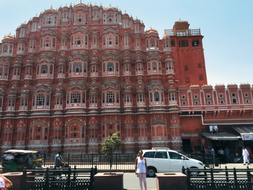 Hawa Mahal high screen wall