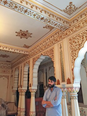 New Museum of the Gem Palace Jaipur in progress