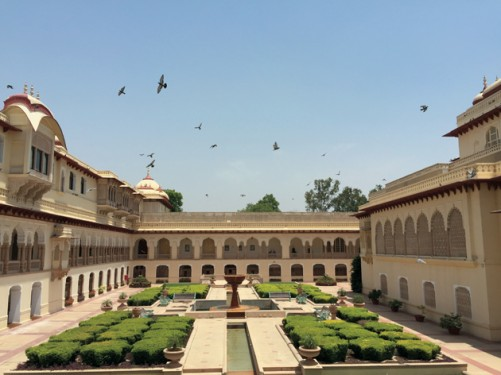 Room with a View at the Rambagh Palace