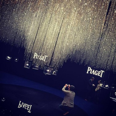 Piaget booth