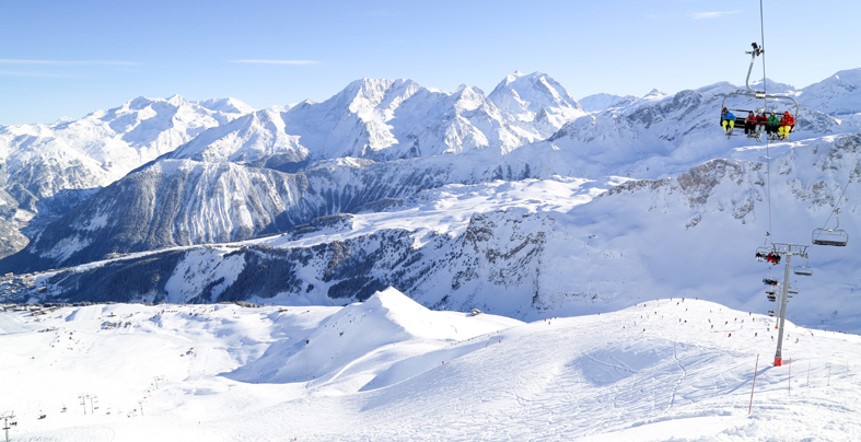 Courchevel telesiege