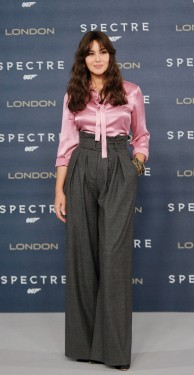 "LONDON, ENGLAND - OCTOBER 22: Monica Bellucci attends a photocall for ""Spectre"" at Corinthia Hotel London on October 22, 2015 in London, England. (Photo by Dave J Hogan/Dave J Hogan/Getty Images)"