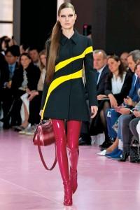 les cuissardes rouge - Dior 2016