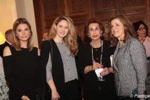 Amina Choucair, Zeina Frem, Nayla Saade and Mimi Tamer