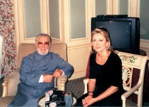 Avec Le Patriarche Hazim